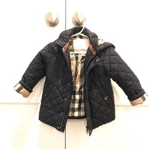 Burberry Quilted Jacket - size 2